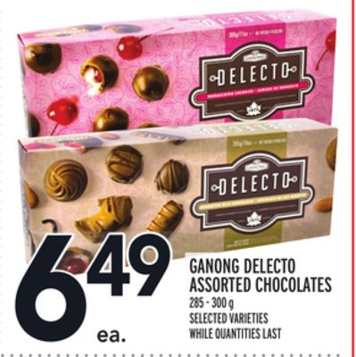 Ganong Delecto Assorted Chocolates