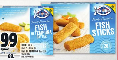 High Liner Fish Sticks Or Fish In Tempura Batter