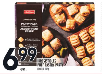 Irresistibles Puff Pastry Party