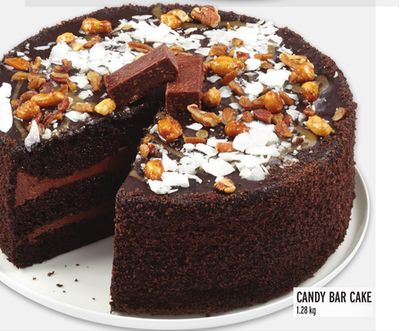 Front Street Bakery Candy Bar Cake