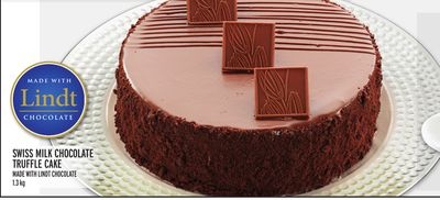 Swiss Milk Chocolate Truffle Cake