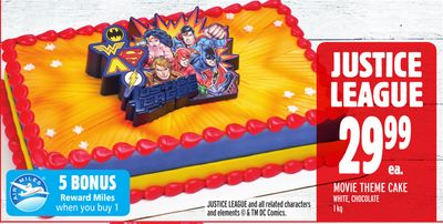 Justice League Movie Theme Cake