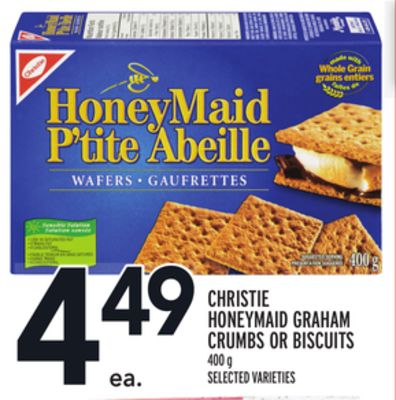 Christie Honeymaid Graham Crumbs Or Biscuits