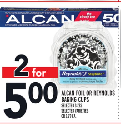 Alcan Foil Or Reynolds Baking Cups