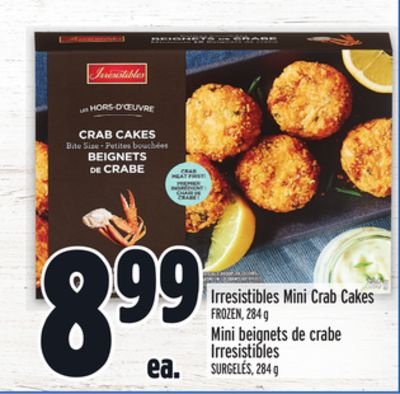 Irresistibles Mini Crab Cakes