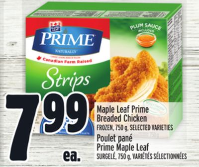 Maple Leaf Prime Breaded Chicken