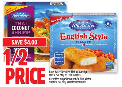 Blue Water Breaded Fish or Shrimp