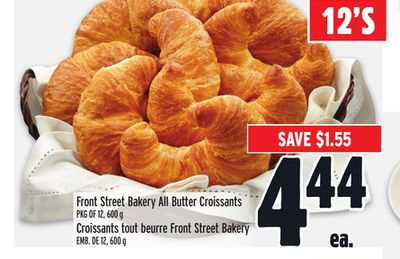 Front Street Bakery All Butter Croissants