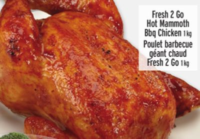 Fresh 2 Go Hot Mammoth Bbq Chicken