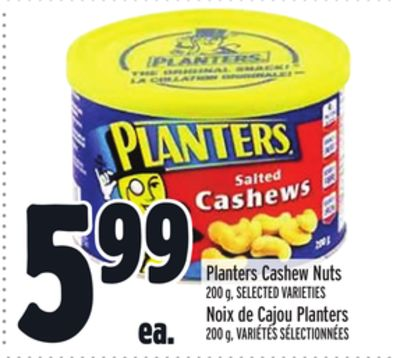 Planters Cashew Nuts