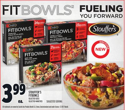Stouffer's Fitbowls