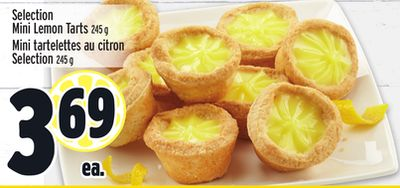Selection Mini Lemon Tarts