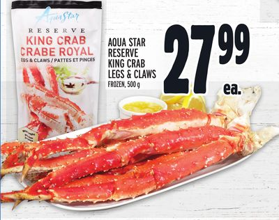 Aqua Star Reserve King Crab Legs & Claws Frozen