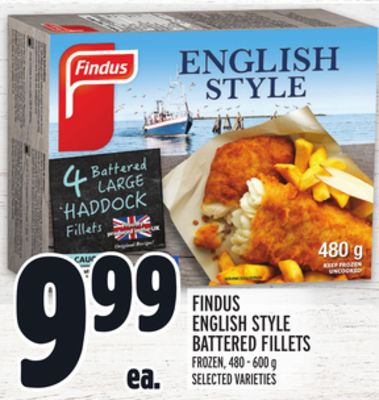 Findus English Style Battered Fillets