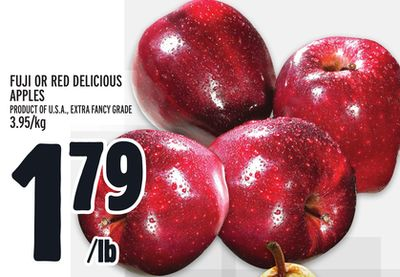 Fuji Or Red Delicious Apples