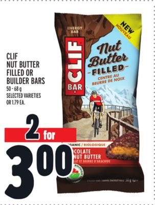 Clif Nut Butter Filled Or Builder Bars