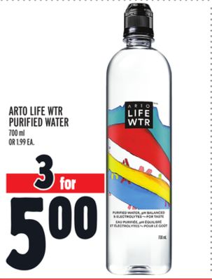 Arto Life Wtr Purified Water