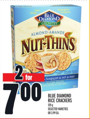 Blue Diamond Rice Crackers