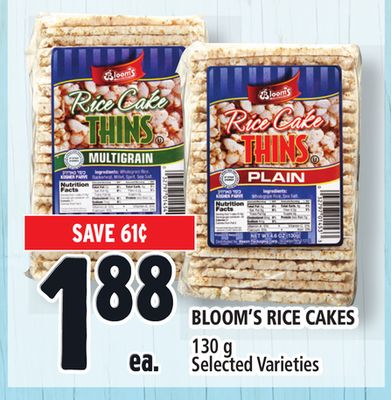 Bloom's Rice Cakes
