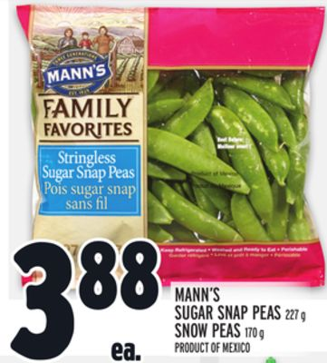 Sugar Snap Peas Or Snow Peas