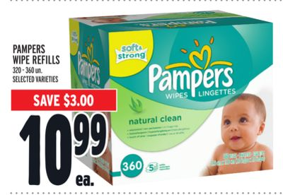 Pampers Wipe Refills