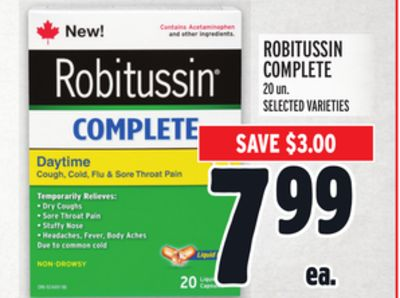 Robitussin Complete