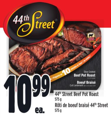 44th Street Beef Pot Roast
