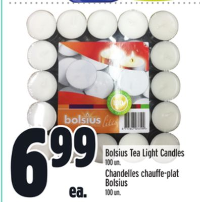 Bolsius Tea Light Candles