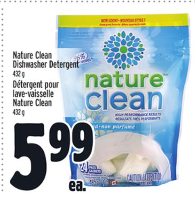 Nature Clean Dishwasher Detergent