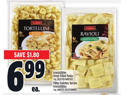 Irresistibles Fresh Filled Pasta