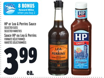 HP or Lea & Perrins Sauce