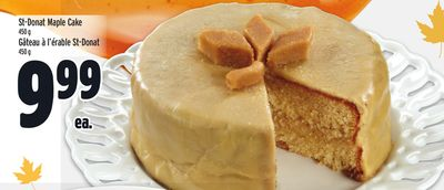St-donat Maple Cake