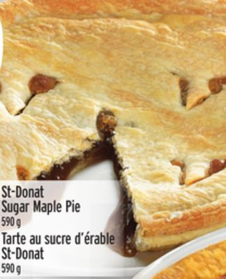 St-donat Sugar Maple Pie