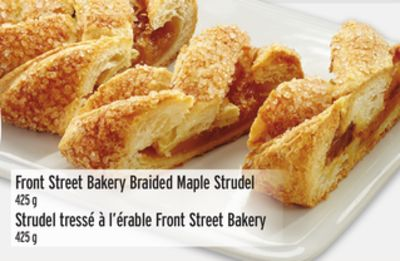 Front Street Bakery Braided Maple Strudel