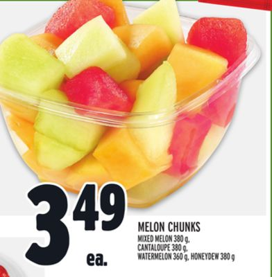Melon Chunks