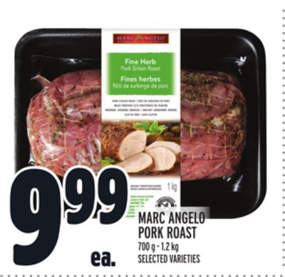 Marc Angelo Pork Roast