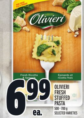 Olivieri Fresh Stuffed Pasta