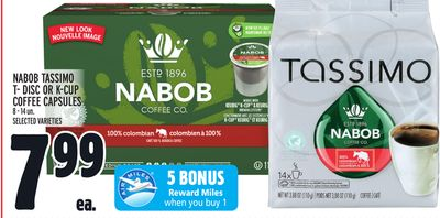 Nabob Tassimo T? Disc Or K?cup Coffee Capsules