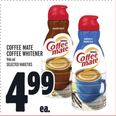 Coffee Mate Coffee Whitener