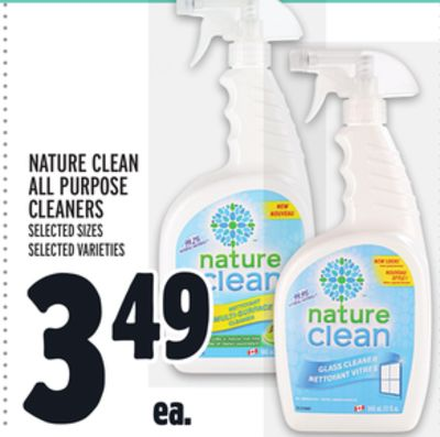 Nature Clean All Purpose Cleaners