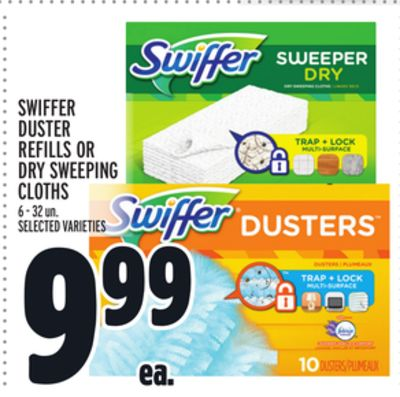 Swiffer Duster Refills Or Dry Sweeping Cloths