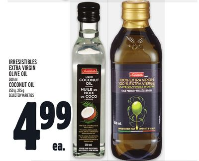 Irresistibles Extra Virgin Olive Oil Or Coconut Oil
