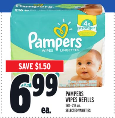 Pampers Wipes Refills