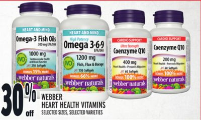 Webber Heart Health Vitamins