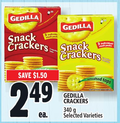 Gedilla Crackers