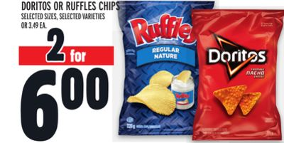 Doritos Or Ruffles Chips
