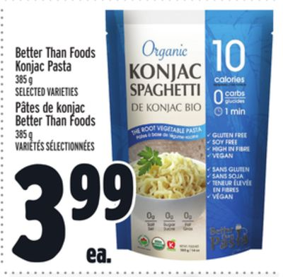 Better Than Foods Konjac Pasta
