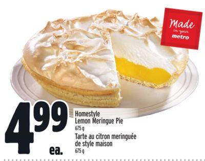 Homestyle Lemon Meringue Pie