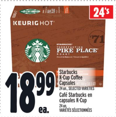 Starbucks K-cup Coffee Capsules