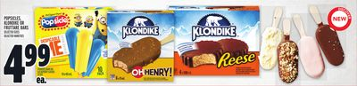 Popsicles - Klondike Or Fruttare Bars